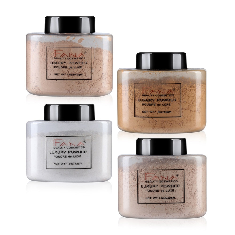 Baking Oil Control Setting Powder  Makeup Concealer Poudre Banana