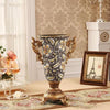 European Luxury Palace Resin Retro Livingroom Desktop Flower Pot Ornaments - Neshaí Fashion & More