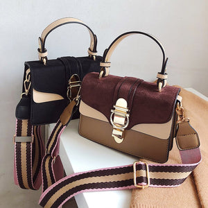 Designer Crossbody Purses Bolsas tri color