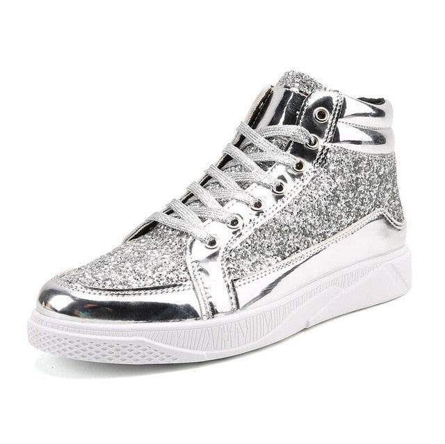 Men High Top Sneakers trendy men