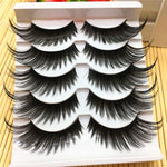 Super dramatic Exaggerated Thick Long Black Eye Lashes - Neshaí Fashion & More