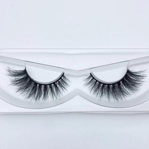 Fluffy reusable mink lashes