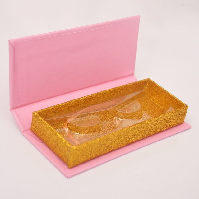 100pcs false eyelash packaging empty case