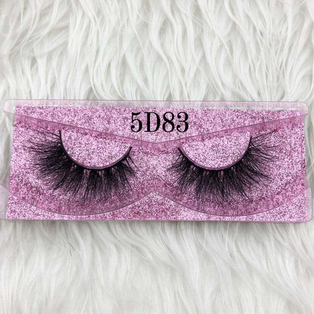 3D mink lashes 5d lashes rose gold glitter case box- add private logo only with bulk order