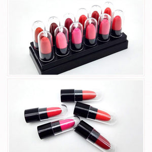 Lipstick Set box long lasting waterproof