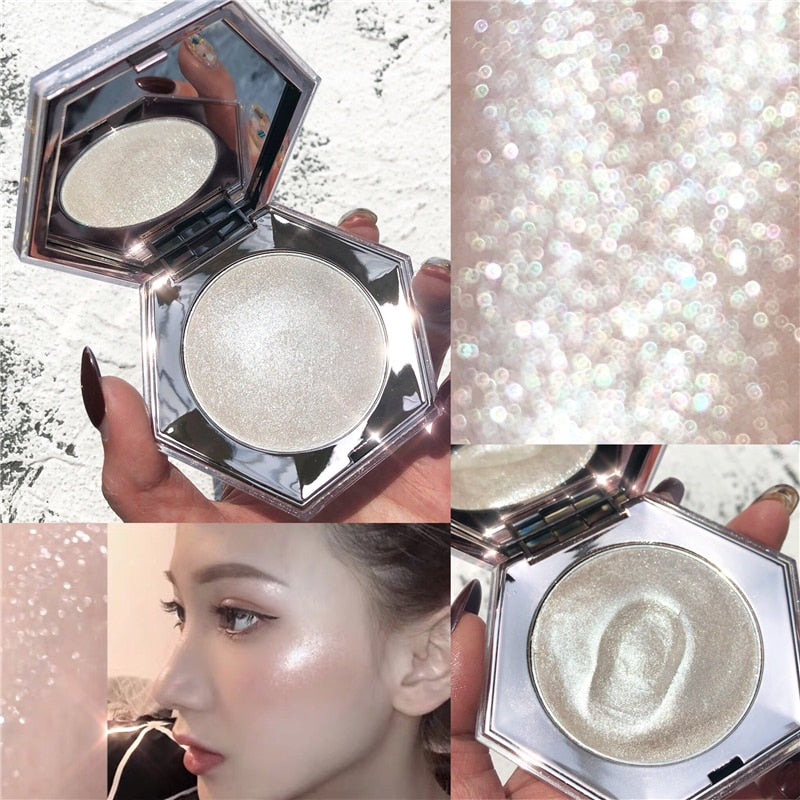 Glow Kit Face Contour Shimmer Powder Body Base Illuminator Highlight Cosmetics