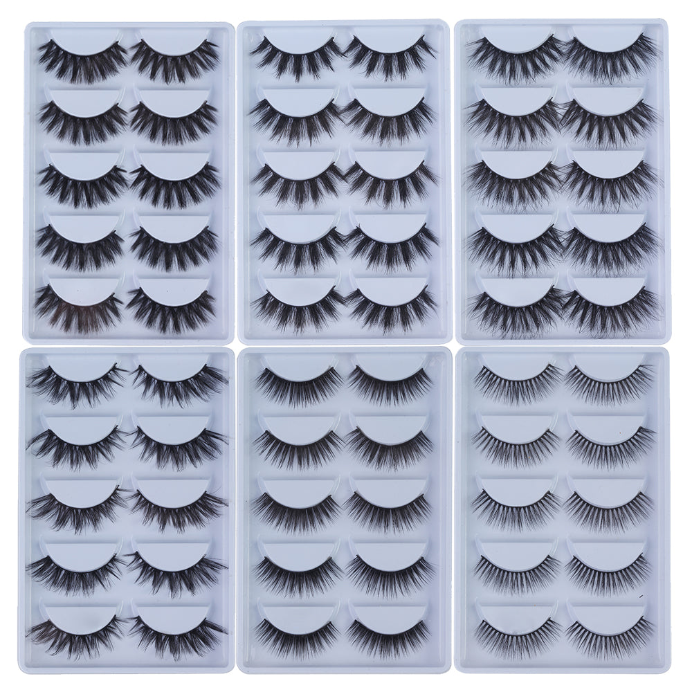 100% Mink Cruelty Free Eye lashes 5D