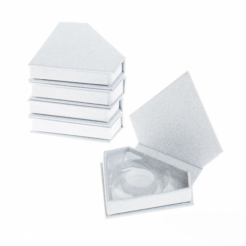20pcs wholesale false eyelash packaging box custom your private logo must be emailed