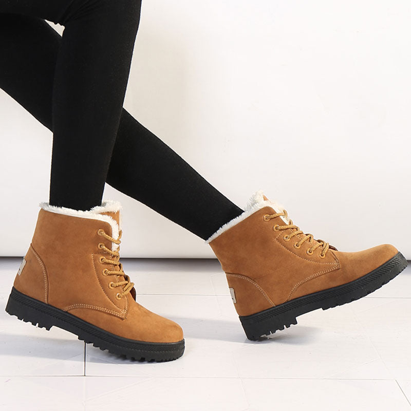 Sale -  ankle boots women shoes warm fur plush