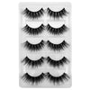 1box eylashes mink false lashes 5pairs 3D cruelty free