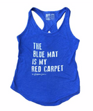 Blue Mat Red Carpet Gymnastics Tank