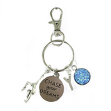 Gymnastics Zipper Pull - Chase Your Dreams