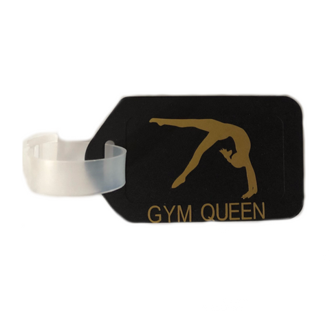 Gymnastics Bag Tag - Black