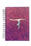 Glittery Gymnastics Notebook