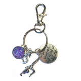 Gymnastics Zipper Pull - She Believed She Could So She Did