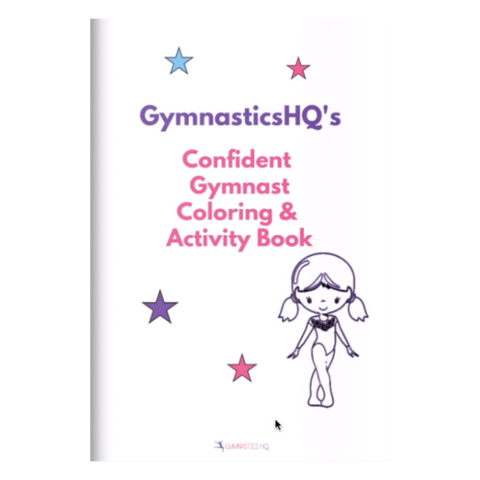 Confident Gymnast Coloring & Activity Book