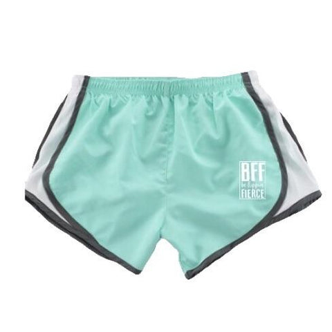 Athletic Shorts for Gymnasts - Mint