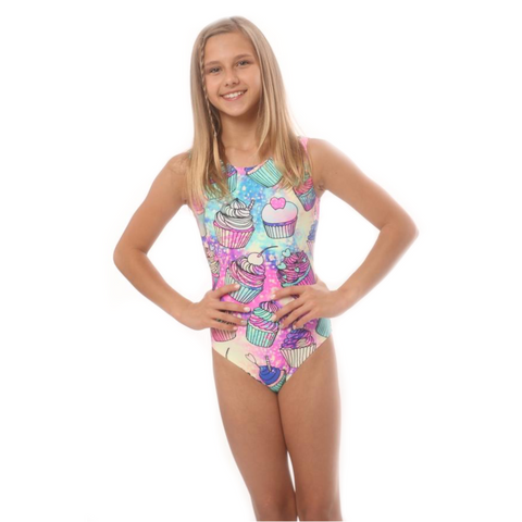 Magic Cupcake Gymnastics Leotard