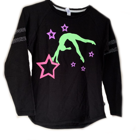 Gymnast Sparkle Long Sleeve Shirt