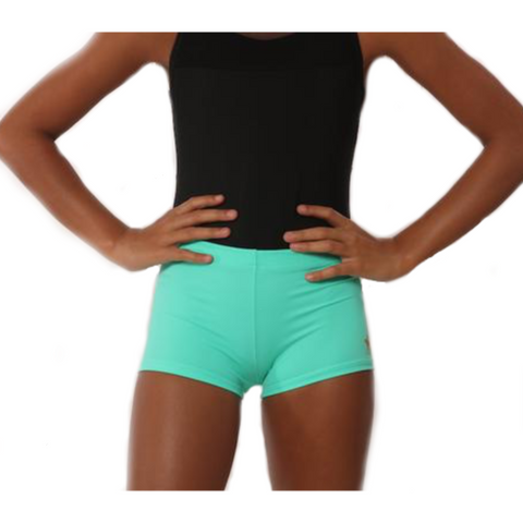 Gymnastics Shorts - Mint Green