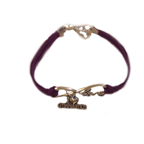 Gymnastics Bracelet - Purple