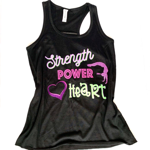 Strength Power Heart Tank