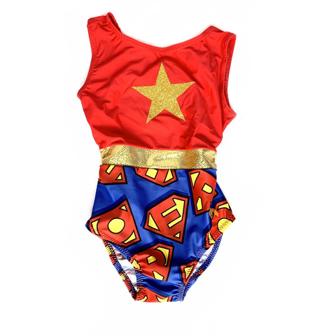Super Girl Gymnastics Leotard
