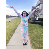 Gymnastics Tie Dye Lounge Set