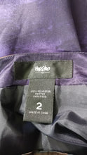 Load image into Gallery viewer, Mossimo Women Skirt, Size 2, blue, purple, brown, polyester