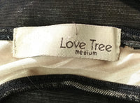 Love Tree Women Dress, Size Medium, black, cotton, nylon, spandex
