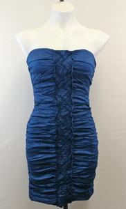 BCBG Max azria Women Dress, Size 08, blue, polyester blend