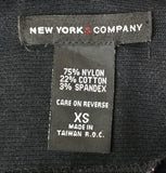 New York and Company Women Shirt, Size X-Small, nylon, cotton, spandex