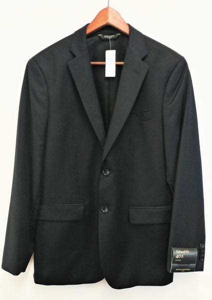 New $229 Banana Republic Men Blazer, Size 40 Short, black, 100% wool