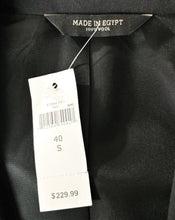 Load image into Gallery viewer, New $229 Banana Republic Men Blazer, Size 40 Short, black, 100% wool
