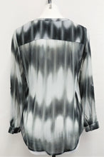 Load image into Gallery viewer, Kim Rogers Women Shirt, Size Small, black, gray, polyester