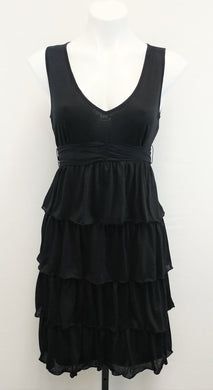 New Elle Women Dress, Size Small, black, polyester