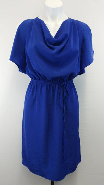 Mossimo Women Dress, Size Medium, blue, polyester