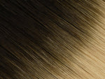 #1B/24 (Ombré) | Machine Tied Weft - EXTRA HAIR EXTENSIONS