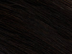 #1B | Flat Bonded Weft® | EXTRA HAIR EXTENSIONS