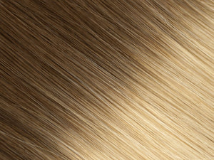 #6/24 (Ombré) | Flat Bonded Weft | EXTRA HAIR EXTENSIONS
