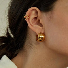 Load image into Gallery viewer, Heritage Earrings 18K Gold Plated