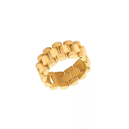 Legacy Fold Ring 18K Gold Plated