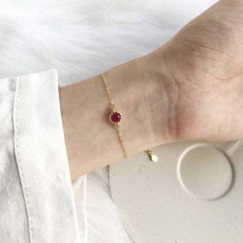 Crown Geometric Bracelet