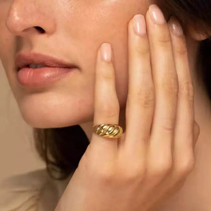 Essential 18K Gold Plated Ring