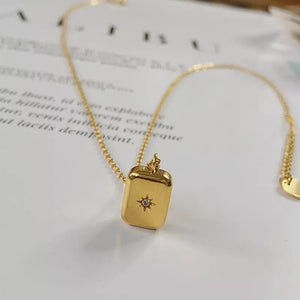 Temple Necklace 18k Gold Plated