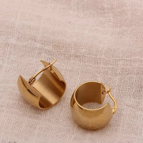 Heritage Earrings 18K Gold Plated