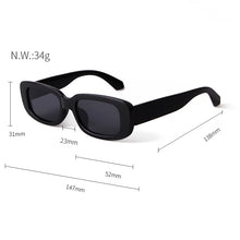 Load image into Gallery viewer, Rectangle Vintage Sunglasses