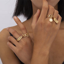Load image into Gallery viewer, Brooklyn 4 pieces ring set