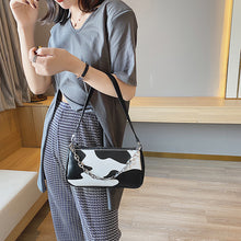 Load image into Gallery viewer, Cow Print Mini Handbag