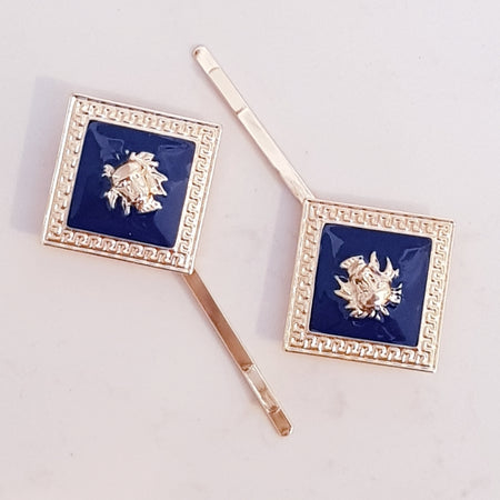 My coat of arms clips navy